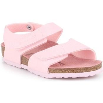 kengät Lapset Derby-kengät & Herrainkengät Birkenstock Palu Kids Logo Vaaleanpunaiset
