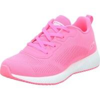 kengät Naiset Derby-kengät & Herrainkengät Skechers Glowrider Valkoiset,Vaaleanpunaiset