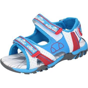 kengät Pojat Sandaalit ja avokkaat Ellesse sandali tessuto pelle sintetica Blu