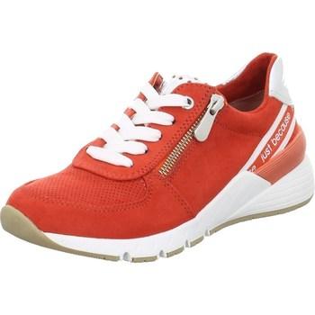 kengät Naiset Matalavartiset tennarit Marco Tozzi 222373934621 Punainen