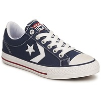 kengät Lapset Matalavartiset tennarit Converse STAR PLAYER CANVAS OX Laivastonsininen