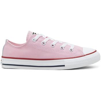 kengät Lapset Matalavartiset tennarit Converse Chuck taylor all star ox Vaaleanpunainen