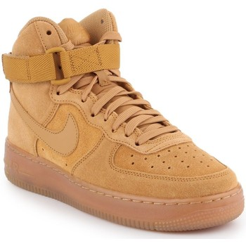 kengät Lapset Korkeavartiset tennarit Producent Niezdefiniowany Nike Air Force 1 High LV8 3 (GS) CK0262-700 brown