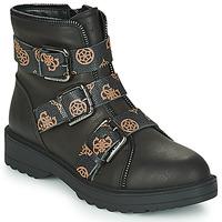 kengät Naiset Bootsit Guess WENDY Black
