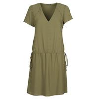 vaatteet Naiset Lyhyt mekko Ikks BR30015 Khaki