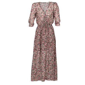 vaatteet Naiset Pitkä mekko Ikks BR30065 Monivärinen