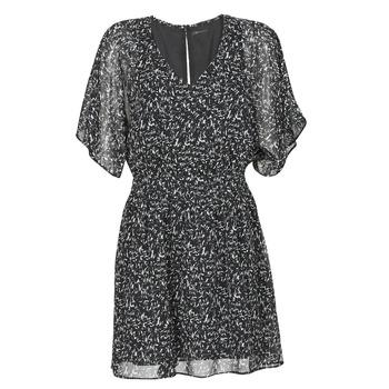 vaatteet Naiset Lyhyt mekko Ikks BR30075 Musta