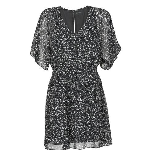 vaatteet Naiset Lyhyt mekko Ikks BR30075 Black