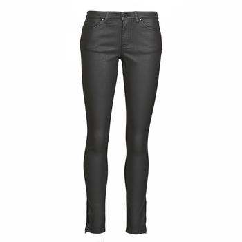 vaatteet Naiset Slim-farkut Ikks BR29125 Musta