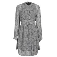 vaatteet Naiset Lyhyt mekko Ikks BR30165 Harmaa