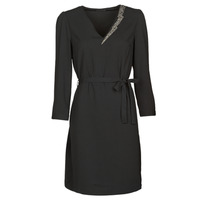 vaatteet Naiset Lyhyt mekko Ikks BR30265 Musta