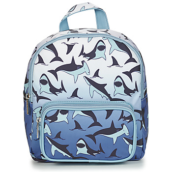 laukut Pojat Reput CARAMEL & CIE MINI BACKPACK SHARKS Blue
