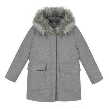 vaatteet Tytöt Paksu takki 3 Pommes 3R44034-220-C Grey