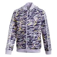 vaatteet Tytöt Ulkoilutakki adidas Originals SST TOP Violet