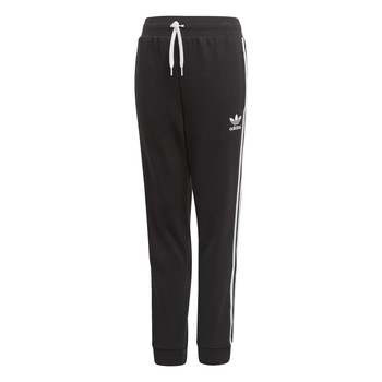 vaatteet Lapset Verryttelyhousut adidas Originals TREFOIL PANTS Black
