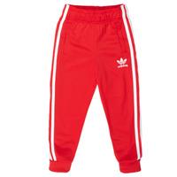 vaatteet Lapset Verryttelyhousut adidas Originals SST TRACKPANT Punainen