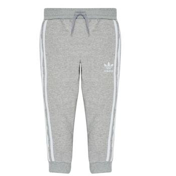 vaatteet Pojat Verryttelyhousut adidas Originals TREFOIL PANTS Grey