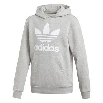vaatteet Pojat Svetari adidas Originals TREFOIL HOODIE Grey