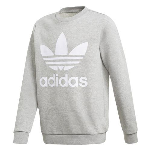 vaatteet Pojat Svetari adidas Originals TREFOIL CREW Grey