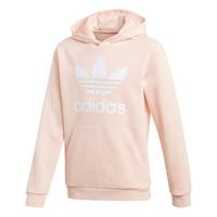 vaatteet Tytöt Svetari adidas Originals TREFOIL HOODIE Pink