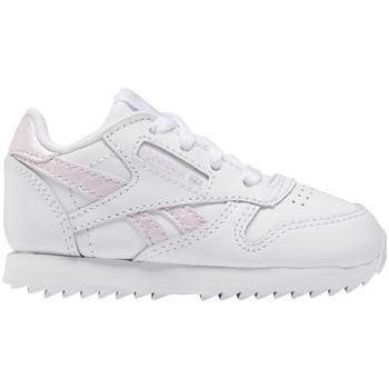 kengät Lapset Matalavartiset tennarit Reebok Sport Classic leather Valkoinen