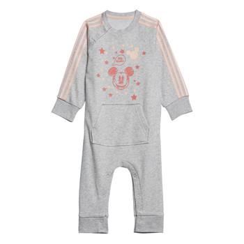 vaatteet Tytöt pyjamat / yöpaidat adidas Performance INF DY MM ONE White