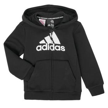 vaatteet Pojat Svetari adidas Performance B MH BOS FZ FL Black