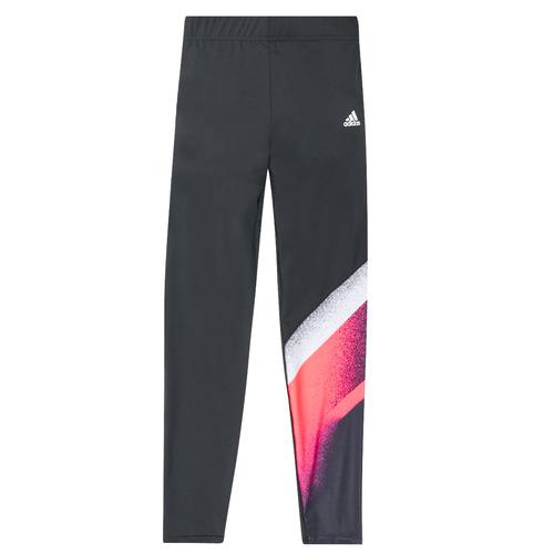 vaatteet Tytöt Legginsit adidas Performance YG UC TIGHT Black