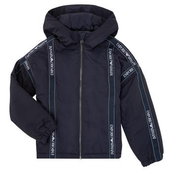 vaatteet Pojat Pusakka Emporio Armani 6H4BL0-1NYFZ-0920 Laivastonsininen