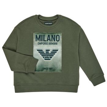 vaatteet Pojat Svetari Emporio Armani 6H4MM1-4J3BZ-0564 Khaki