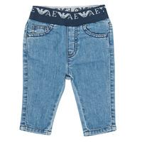 vaatteet Pojat Slim-farkut Emporio Armani 6HHJ07-4D29Z-0942 Blue