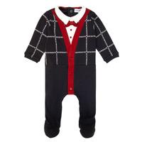 vaatteet Pojat pyjamat / yöpaidat Emporio Armani 6HHD12-4J3WZ-F912 Laivastonsininen