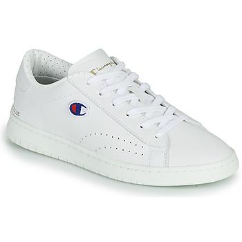 kengät Naiset Matalavartiset tennarit Champion COURT CLUB PATCH Valkoinen / Beige