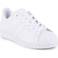 kengät Naiset Matalavartiset tennarit adidas Originals Adidas Superstar W FV3285 white