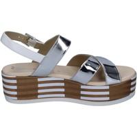 kengät Naiset Sandaalit ja avokkaat Tredy's sandali pelle sintetica Argento
