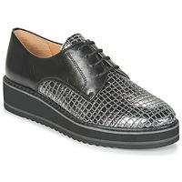 kengät Naiset Derby-kengät Karston ORPLOU Musta / Harmaa