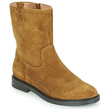 kengät Naiset Bootsit Karston OVRIN Ruskea