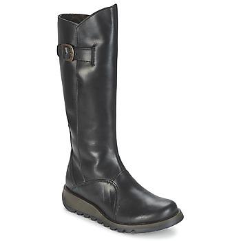kengät Naiset Saappaat Fly London MOL 2 Musta