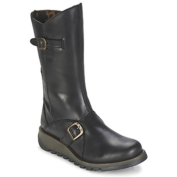 kengät Naiset Saappaat Fly London MES2 Black
