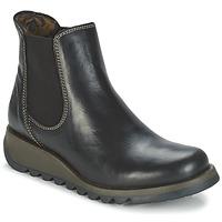 kengät Naiset Bootsit Fly London SALV Black