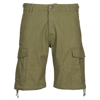 vaatteet Miehet Shortsit / Bermuda-shortsit Jack & Jones JJIALFA Kaki