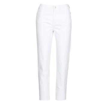vaatteet Naiset 5-taskuiset housut Only ONLEMILY White