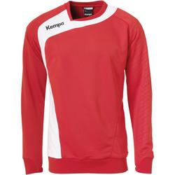 vaatteet Lapset Svetari Kempa Training top  Peak rouge/blanc