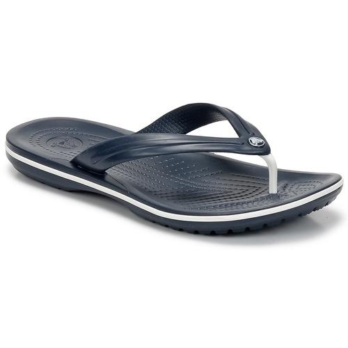 kengät Varvassandaalit Crocs CROCBAND FLIP Laivastonsininen