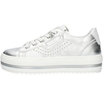 kengät Tytöt Matalavartiset tennarit Nero Giardini E031560F Silver
