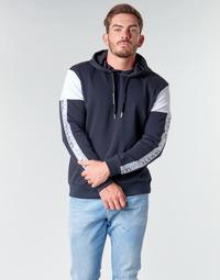 vaatteet Miehet Svetari Armani Exchange 6HZMFD Musta / Valkoinen