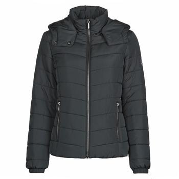 vaatteet Naiset Toppatakki Armani Exchange 8NYB12 Musta