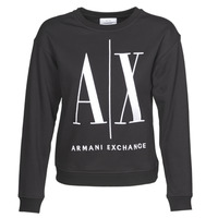 vaatteet Naiset Svetari Armani Exchange 8NYM02 Black