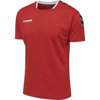 vaatteet Lyhythihainen t-paita Hummel Maillot  Authentic Poly HML rouge