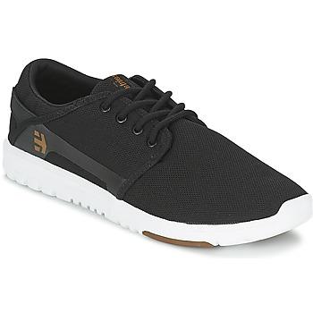 kengät Miehet Matalavartiset tennarit Etnies SCOUT Black / White